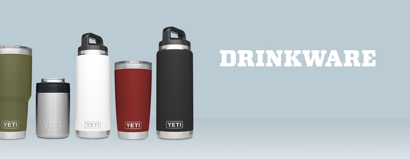 Photo of Yeti assorted sizes of drinkware.